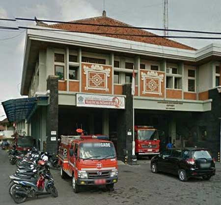 Alamat Kantor & Nomor Telepon Pemadam Kebakaran Denpasar