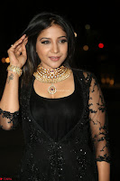 Sakshi Agarwal looks stunning in all black gown at 64th Jio Filmfare Awards South ~  Exclusive 156.JPG