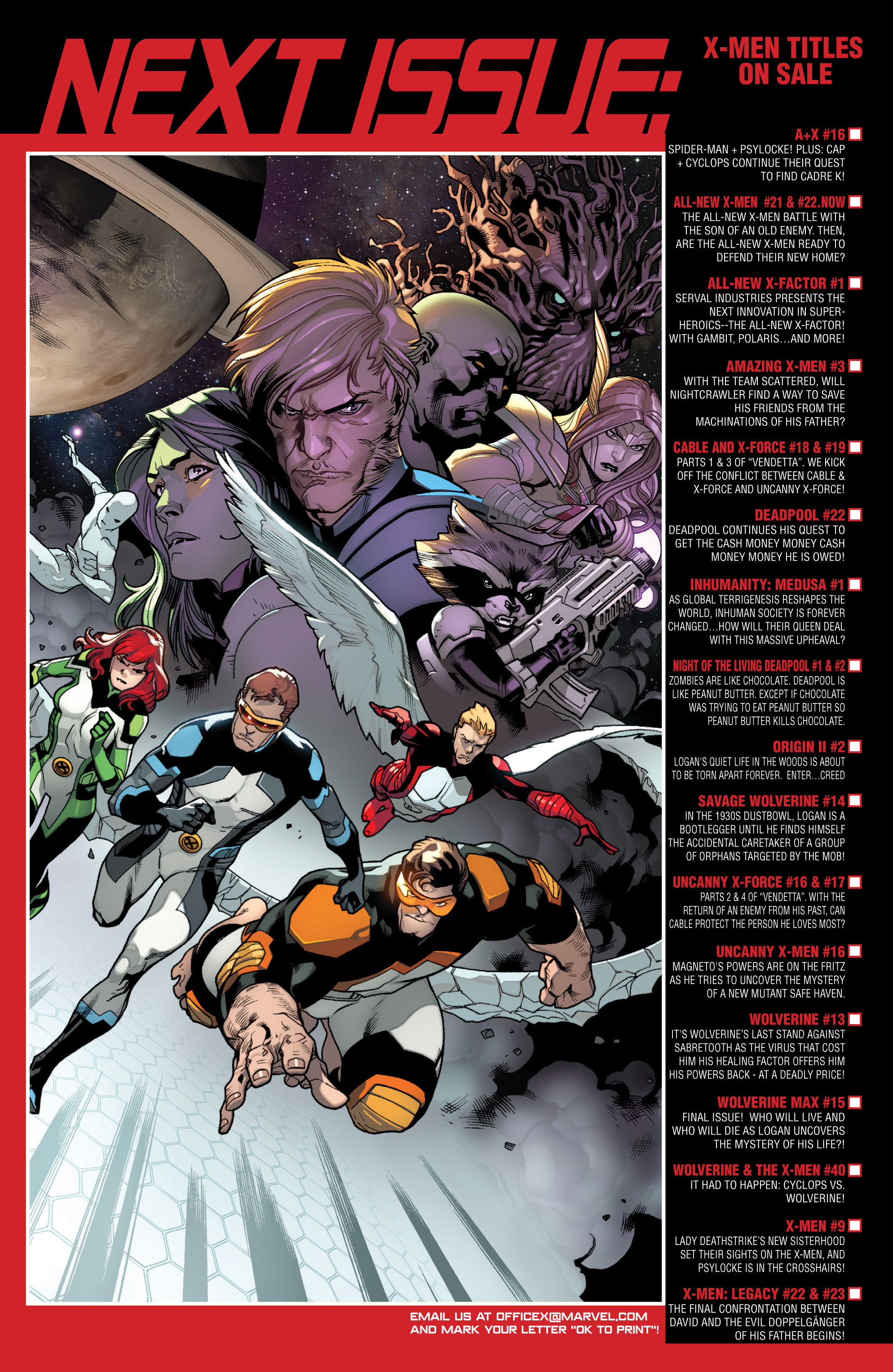 Read online All-New X-Men (2013) comic -  Issue # _Special - All-Different - 77