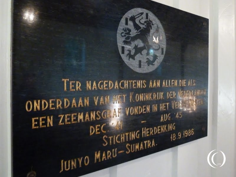 For those lost at sea plaquette in Loenen Holland