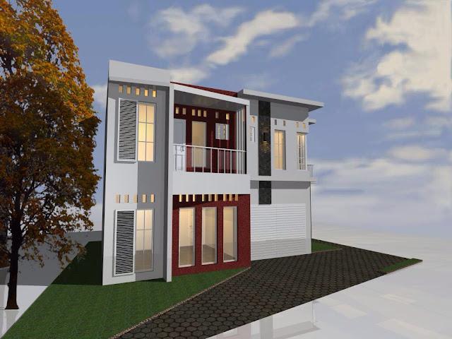 Villa konsep Cottage