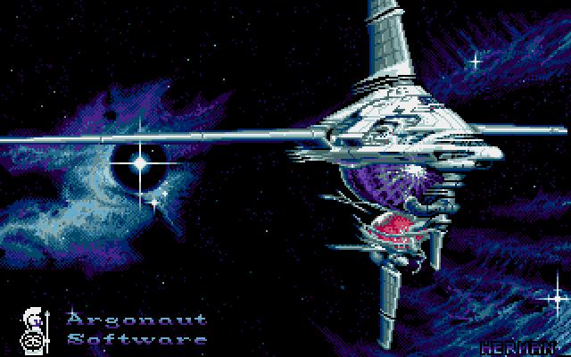 Starglider 2 title screen amiga