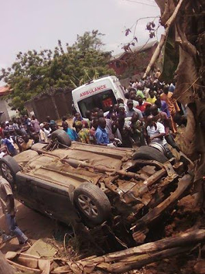 Photos: Pregnant Woman Dies In Fatal Accident At Obadore55