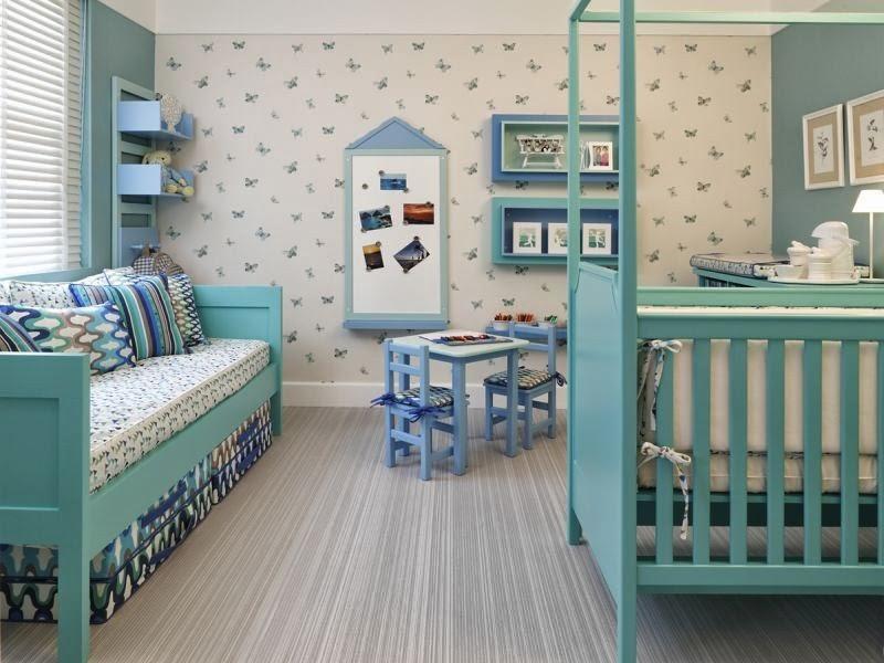 Habitaciones de beb color turquesa dormitorios colores - Colores habitacion bebe ...