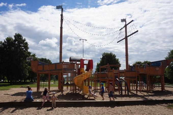 Tallinna lasten kanssa, uimapaikan leikkipuisto