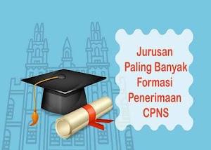 9 Jurusan Paling Banyak Formasi Dalam Setiap Penerimaan CPNS