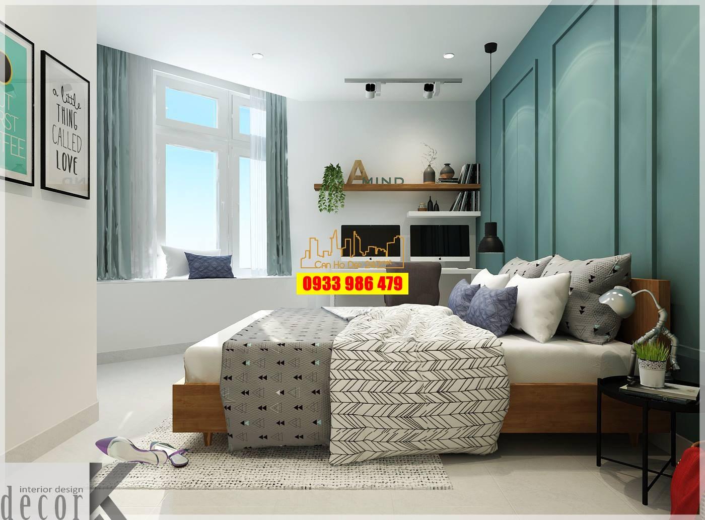 Phòng ngủ Căn hộ NBB Garden