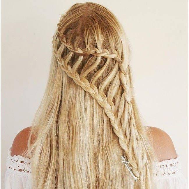 stunning braids for brides. Black Bedroom Furniture Sets. Home Design Ideas