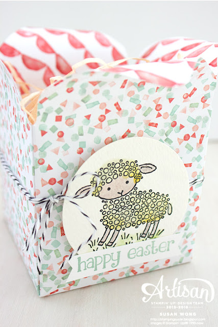 Easter Lamb Treat Box 1 ~ Susan Wong