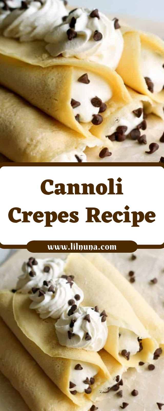 Cannoli Crepes Recipe