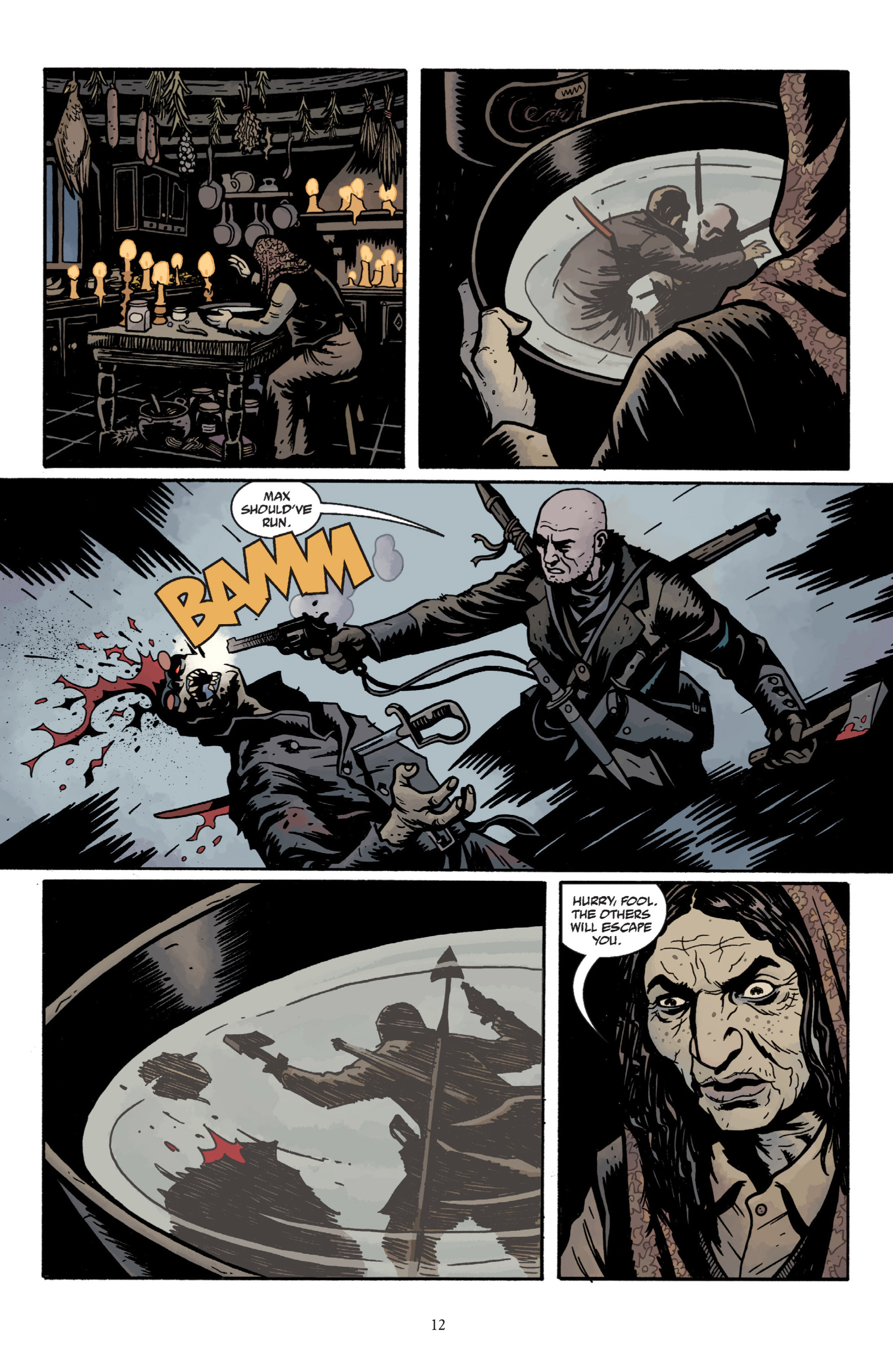 Read online Baltimore: The Plague Ships comic -  Issue # TPB - 14