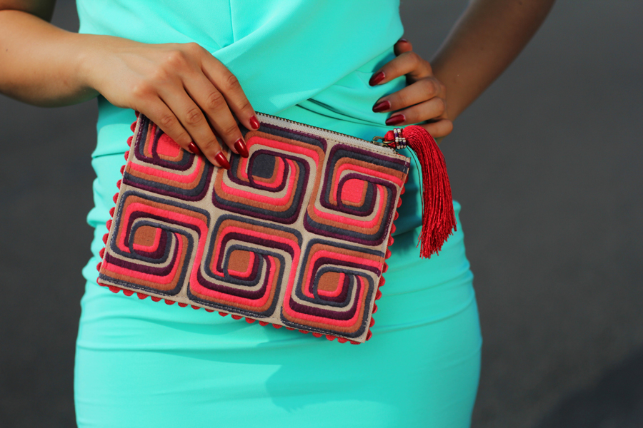 clutch kleid fashion