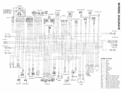 Suzuki    GSX   250F Across motorcycle 1991 Electrical    Wiring       Diagram      All about    Wiring       Diagrams
