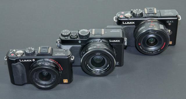 Panasonic LX5 - LX100 - GX1