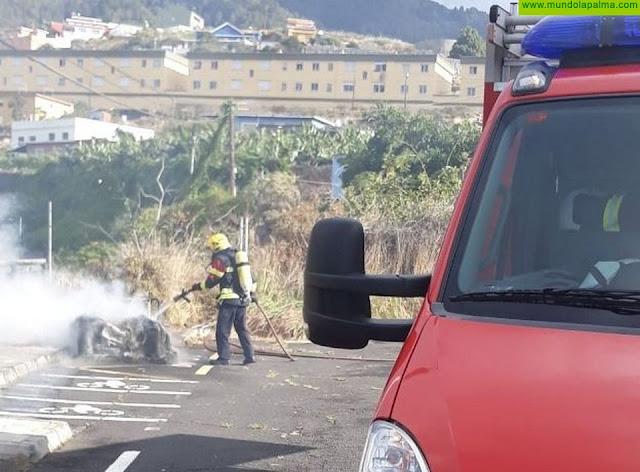 Un contenedor se incendió esta mañana en Mirca