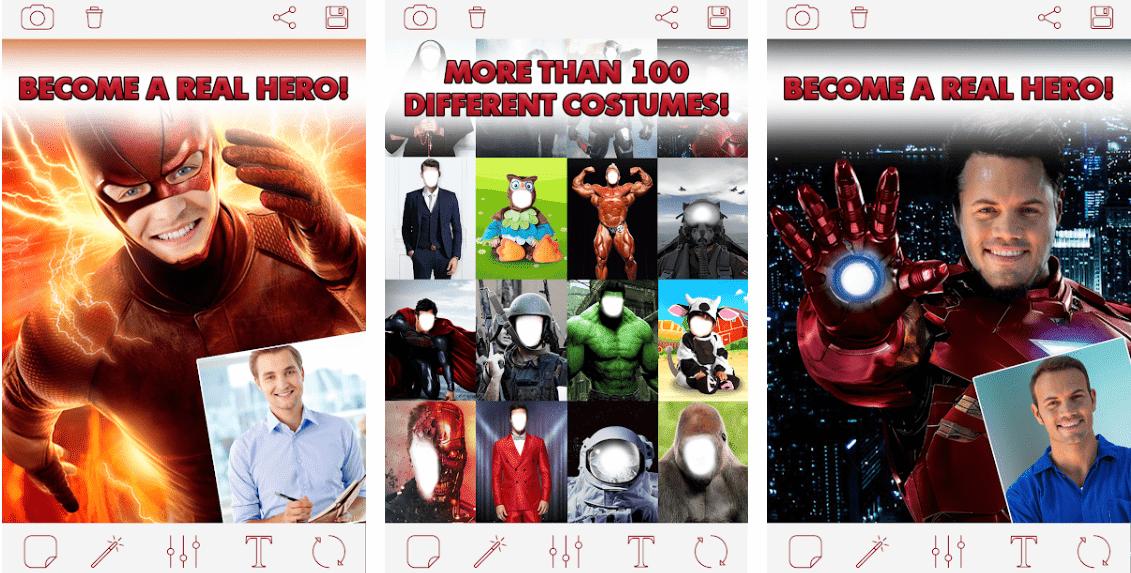 服裝(Costume)APP變身成為電影英雄人物