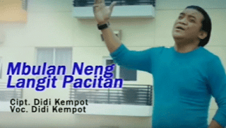 Lirik Lagu Mbulan Neng Langit Pacitan - Didi Kempot