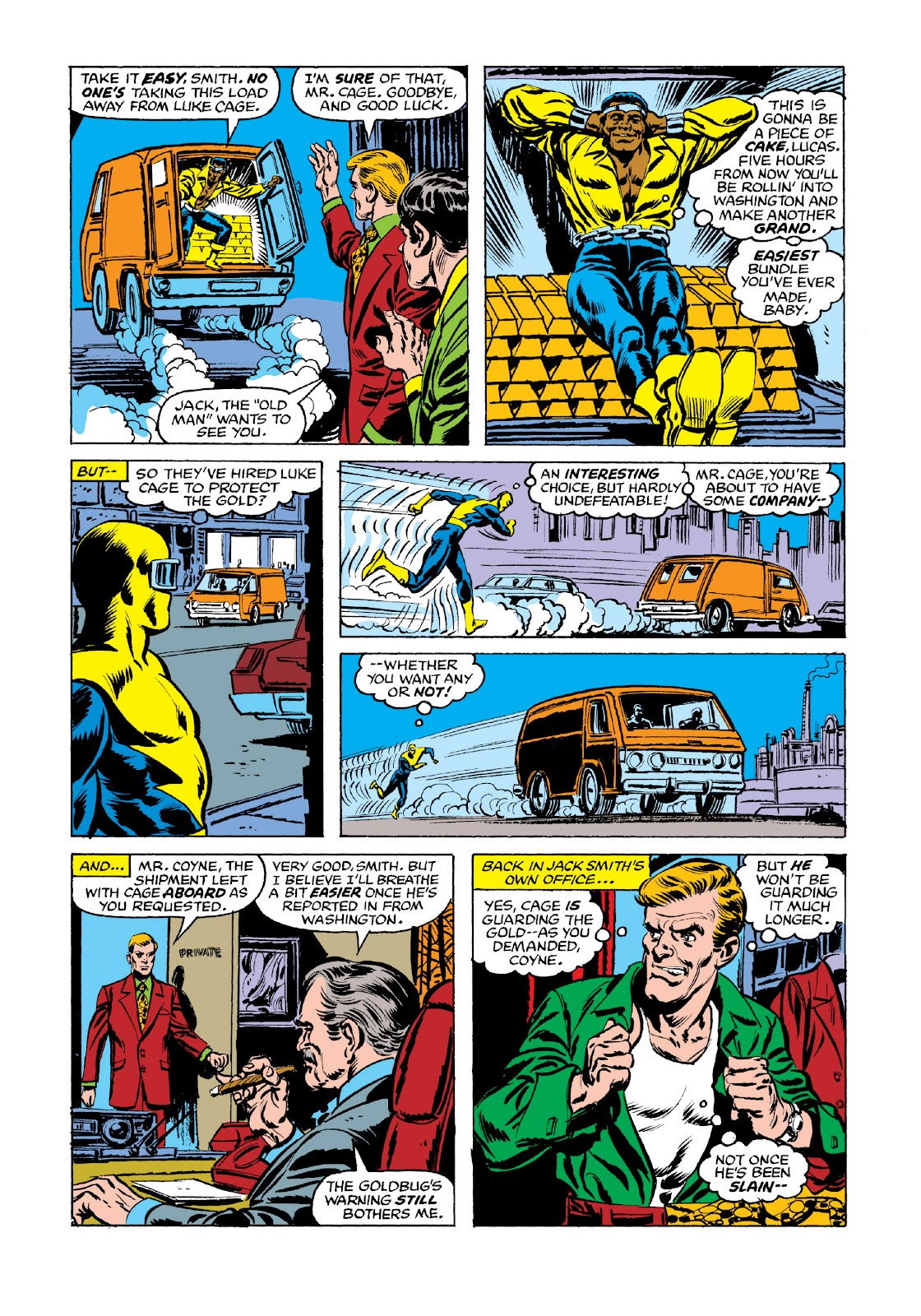 Read online Marvel Masterworks: Luke Cage, Power Man comic -  Issue # TPB 3 (Part 2) - 99