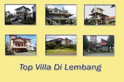 Top Villa Rekomendasi Untuk 30 Orang Di Lembang Bandung