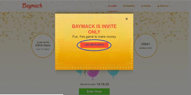 cara masuk disitus Baymack terbaru 2017