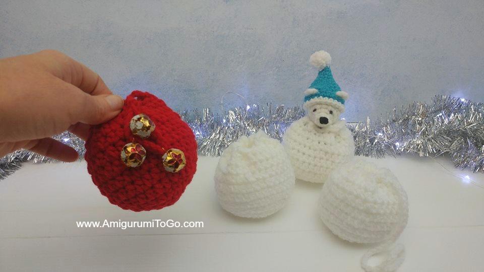 Crochet pattern Santa the bear amigurumi | 540x960