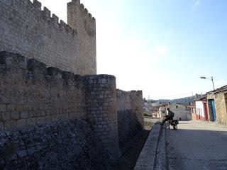Foso. Castillo de Aguilar