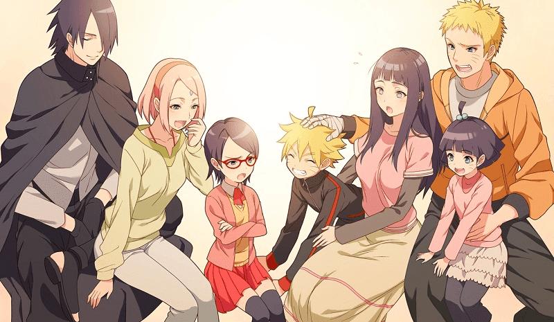 keluargan naruto dan sasuke
