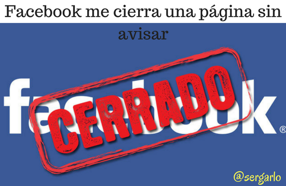 Facebook, redes sociales, social media, fan page, cierra, censura