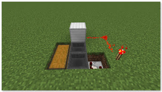 Minecraft トロッコアイテム輸送 簡単な荷降ろし駅 作り方④