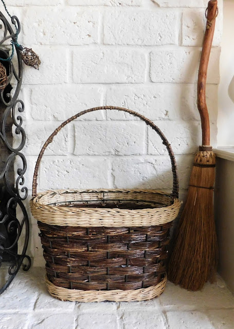 fireplace basket