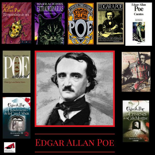 Edgar Allan Poe en la BUM.