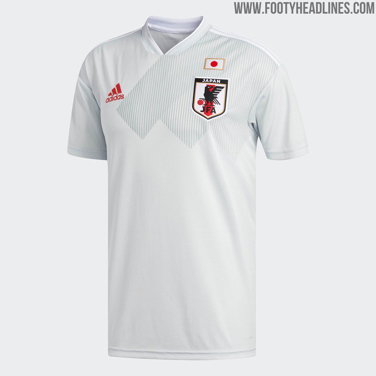 Japan 2018 World Cup Away Kit Released Footy Headlines