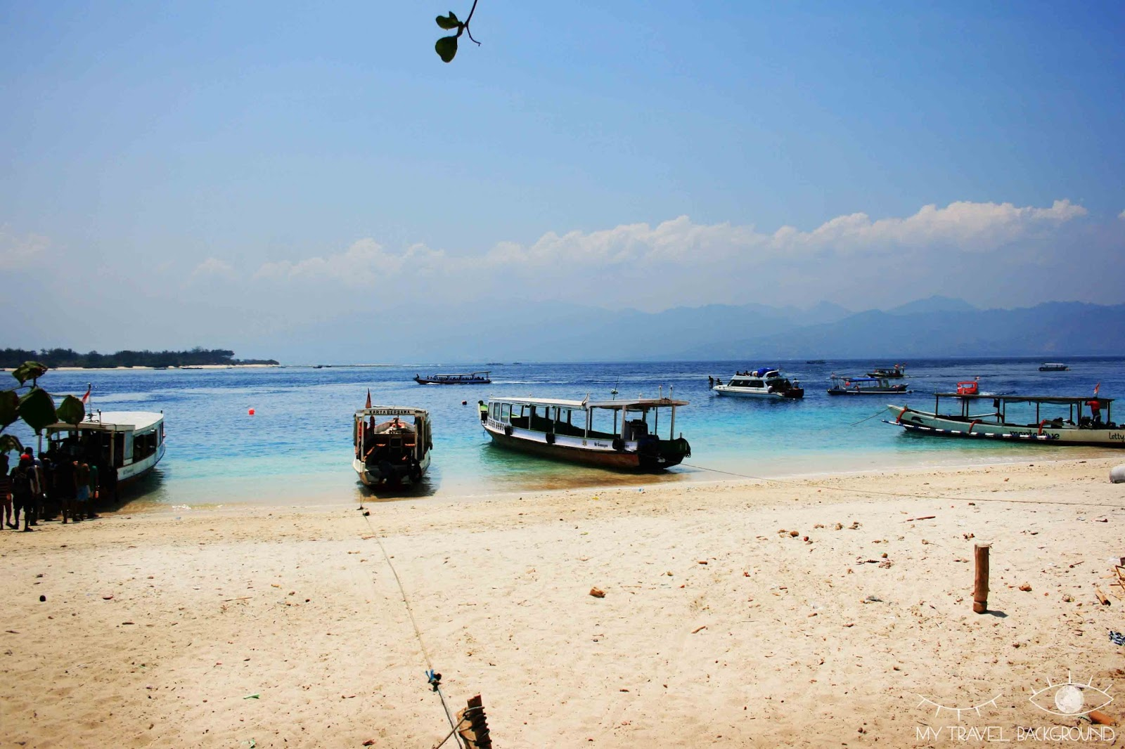 My Travel Background : 2 jours sur l'île de Gili Trawangan