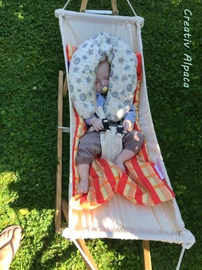 Wochenrückblick Babyhängematte