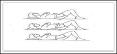 Latihan Pelvic Tilting pada latihan pinggan bawah