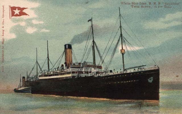 Ilustração do RMS Replubic