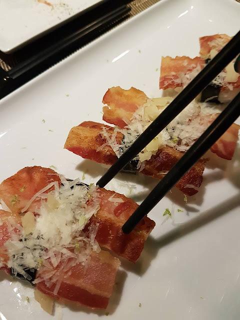OiSushi: l'Italian Sushi a Roma e il menu di Andrea COCCO