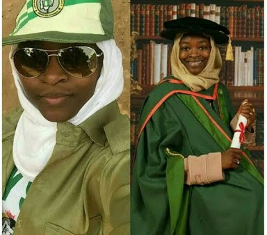 Female Corper Doing Her NYSC With PhD (Photos)