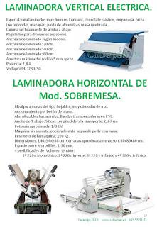 Laminadoras SobreMesa.