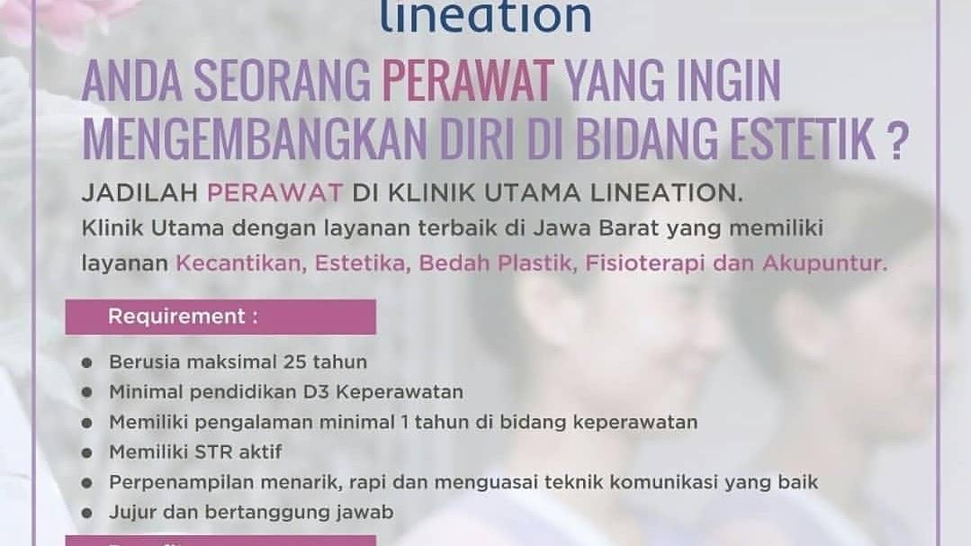 Lowongan Kerja Klinik Kecantikan Bandung 2019 Di Lineation Centre Lowongankerjacareer Com