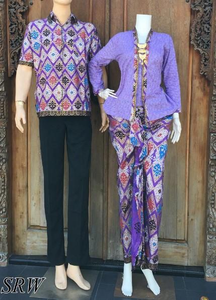 30+ Model Baju Kebaya Batik Couple Modern Terbaru