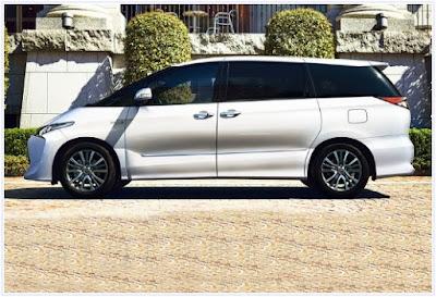2017 Toyota Tarago Concept