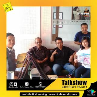 "Talkshow ""Sedekah Bumi"". Sareng Rencang - Rencang Panitia saking Desa Wisata Cibuntu Kabupaten Cirebon."