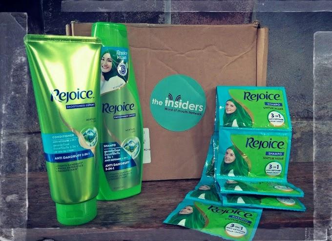 Review Singkat : Pengalaman Menggunakan Rejoice 3in1 Hijab Shampoo
