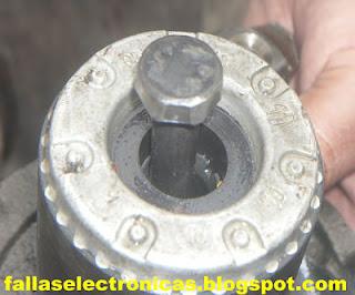 como extraer rotor de nevera