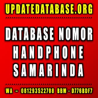 Jual Database Nomor Handphone Samarinda