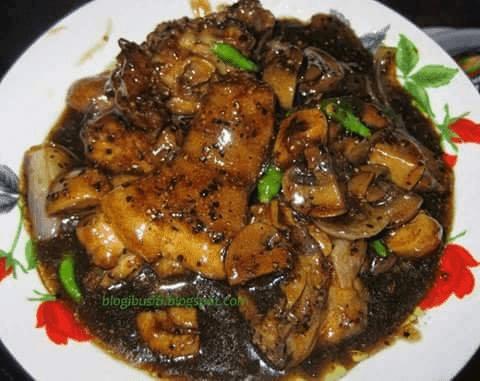 resepi ayam masak kicap pedas daun kari