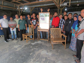 Dorong Kemandirian Ekonomi, Pemkab Trenggalek Berikan Pelatihan Bambu Laminasi