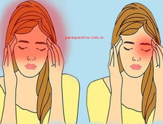 Como curar un dolor de cabeza.