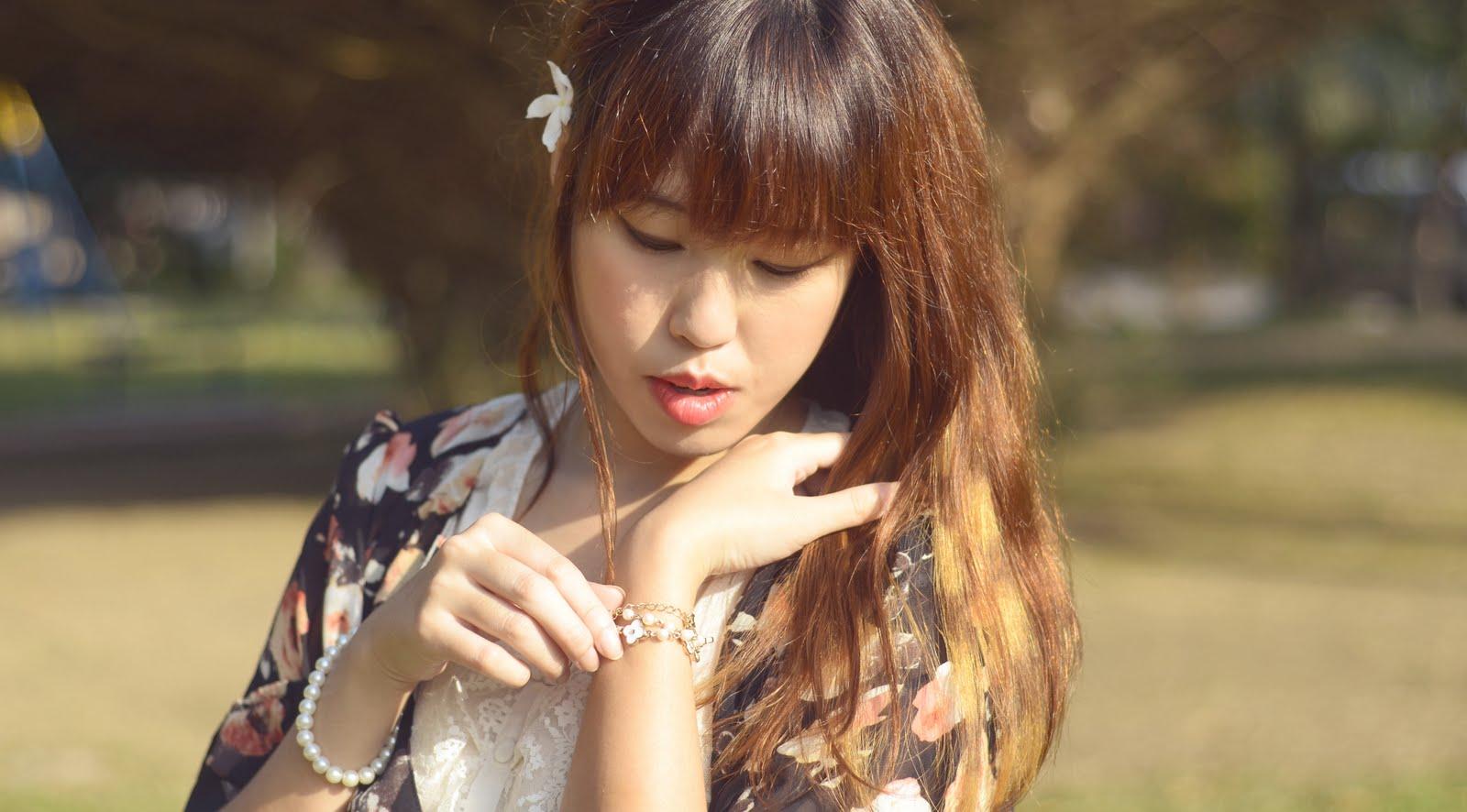 Juliana Lee Mei Yen - Cotton On Floral Kimono, Miss ... - photo#26